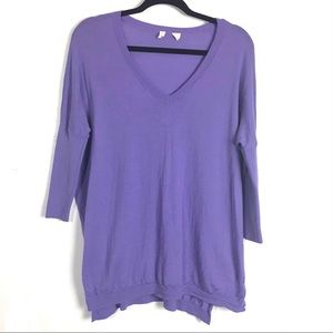 3/$25 Moth Purple Wool Sweater XS